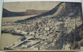Panorama Of Juneau, Alaska. Circa 1915