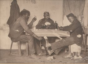 Five Card Stud. Circa 1898