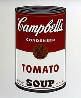 Print Campbells Toamato Soup - Andy Warhol