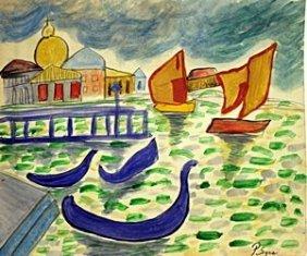 The Rivere 1910 - Paul Signac