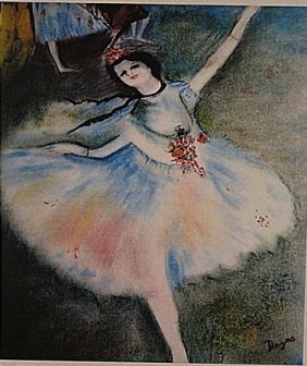 Edgar Degas - The Dancer