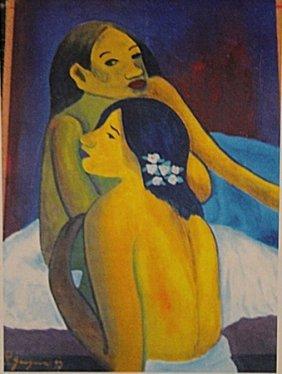 Paul Gauguin - Two Womans
