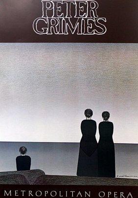 "Gallery Poster ""peter Grimes: Metropolitan Opera"" After"
