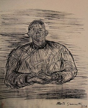 Alberto Giacometti - Portrait Of A Man