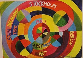Sonia Delaunay - Rythme Colore