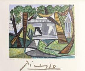 "Lithograph ""le Verte Galant"" By Pablo Picasso"
