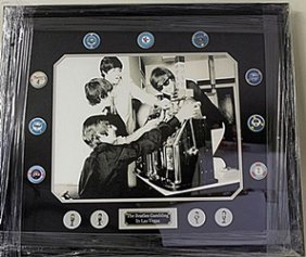 The Beatles Gambling In Las Vegas Giclee He5089