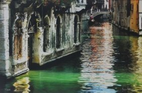 """""""green Canal"""" After Kris Peterson"""