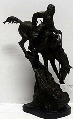 """""""mountain Man"""" - Frederic Remington"""