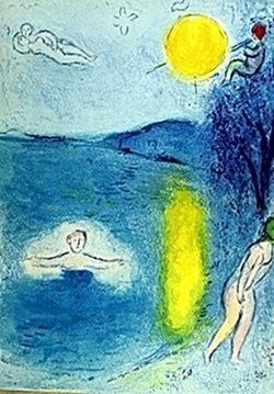 Lithograph By Marc Chagall- The Summer Season