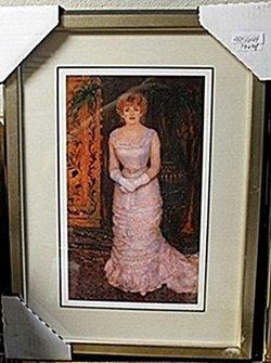 Woman Of Beauty Painted Portrait Ar5644