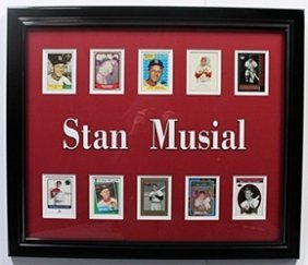 10 Cards With Licensed Photo Of Stan Musial
