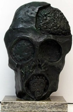 """faces Of War"" Bronze Sculpture - Salvador Dali"