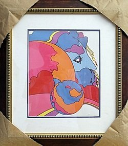 Lithograph By Peter Max