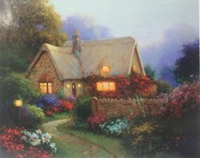 """""""bougainvillea Cottage"""" After Sergon"""