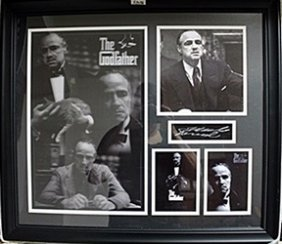 Don Corleone's The Godfather Signed Giclee Photograph