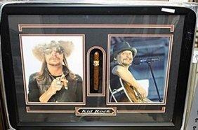 Kid Rock Photograph With Cigar Ar5687