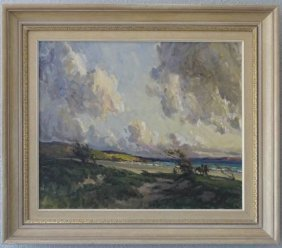 James Humbert Craig Painting, Donegal Coast