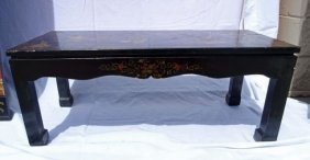 Chinese Coromandel Lacquer Coffee Table
