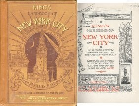 Book King's Handbook New York City First Edition Moses