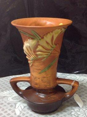 Roseville Freesia Vase 124-9