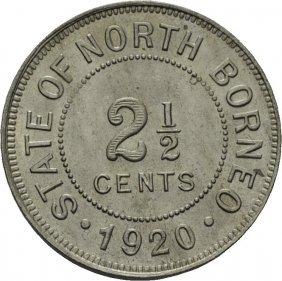 State Of North Borneo, Britisk Koloni, 1920 2 1/2