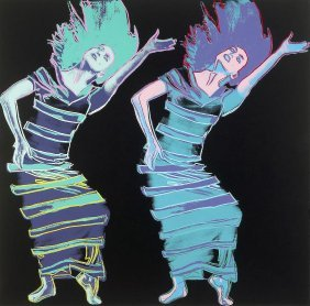 Satyric Festival Song, By Andy Warhol, 1986