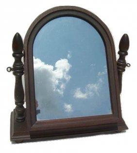Antique Shaving Mirror By Schulze & Van Steel Mfg. Co