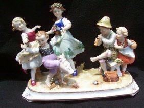 Beautiful Vintage German Porcelain Figurines , Germany