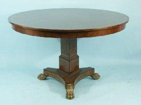 290 mahogany empire entry table by maitland smith lot 290 for Table 52 art smith