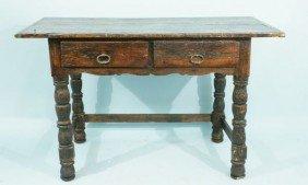 18th CENTURY TABLE, CIRCA 1750