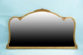 GILTWOOD CONTINENTAL OVER-SIDEBOARD MIRROR