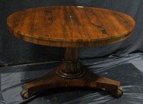 Regency Rosewood Tilt Top Center Table