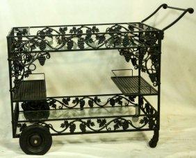 Iron Patio Cart