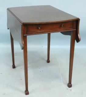 Late 19th Century English Mahogany Pembroke Table