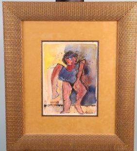 "Juan Breceda ""untitled"" Oil On Canvas, 2003"