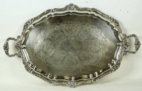 Gorham Silverplated Serving Tray