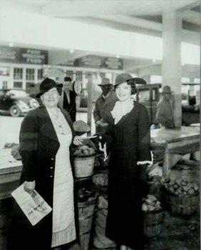 "Bailey Bob ""ladies At The Farmers Market, 1934"""