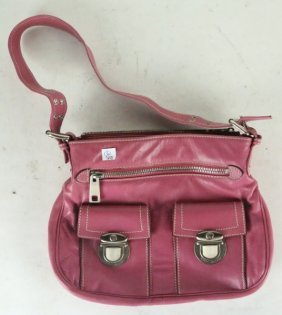 Marc Jacobs Pink Leather Bag.