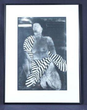 Female Nude Print