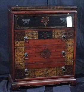Chinese Style Chest Of Drawers By Hooker Furniture