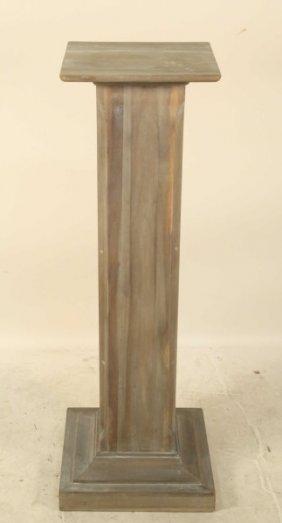 Painted Wooden Pedestal