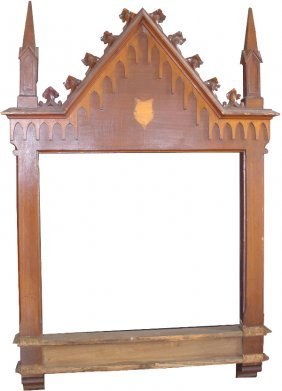 9 LG WOOD GOTHIC FRAMES STATIONS OF CROSS  2892