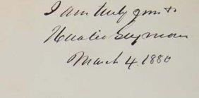 Horatio Seymour Signature - Politician