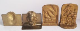2 Sets Indian & Horses Bookends