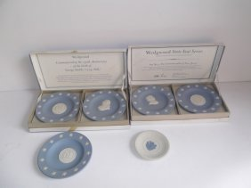 6 Wedgwood Collector Plates
