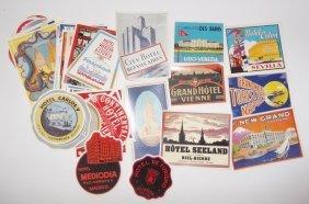 Hotel/motel Luggage Labels