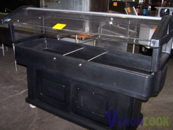 1305 Cambro Portable Salad Bar Ice Bin Catering Lot 1305