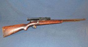 Stevens Model 66b Bolt Action .22cal Rifle, Weaver