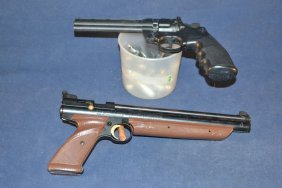 Two .177cal Pellet Pistols: American Classic Model